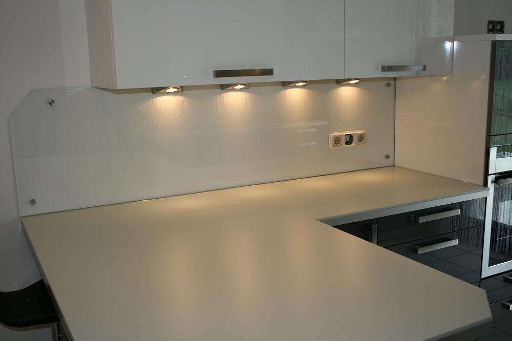 glasruckwande kuche